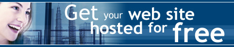 Get your website hosted for FREE